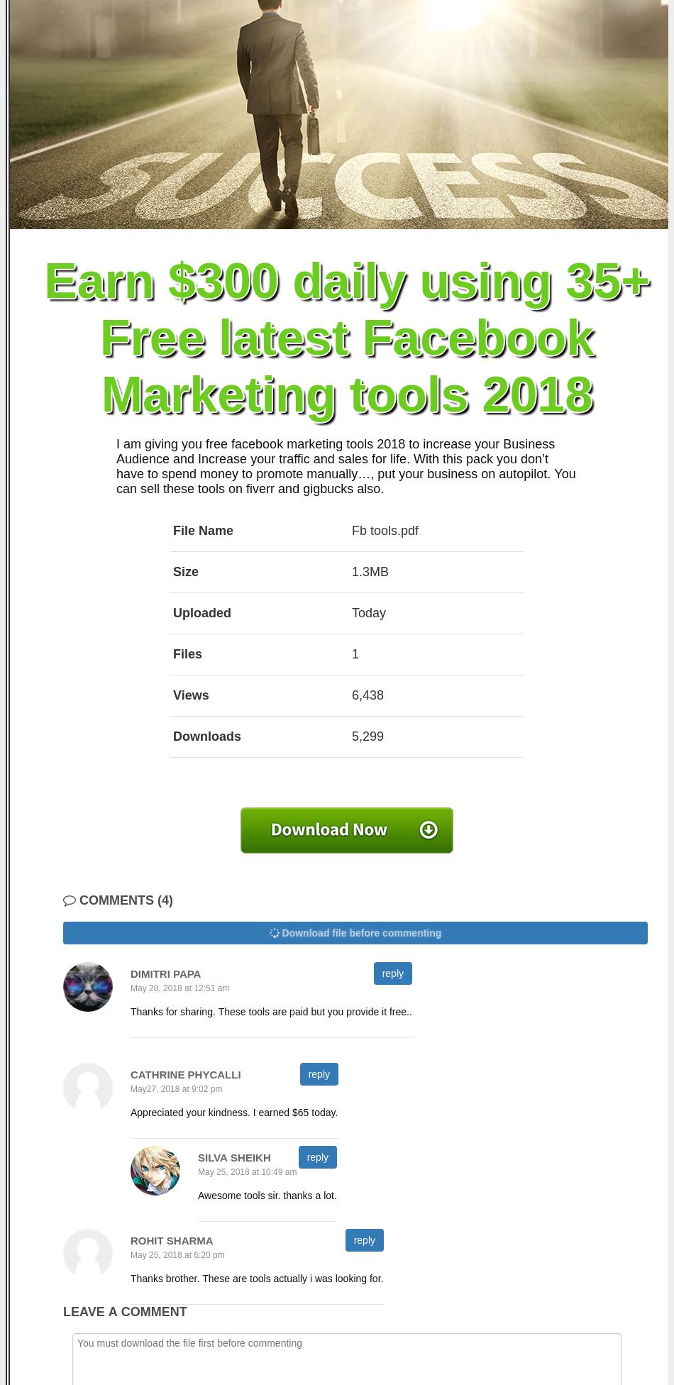 300 facebook marketing