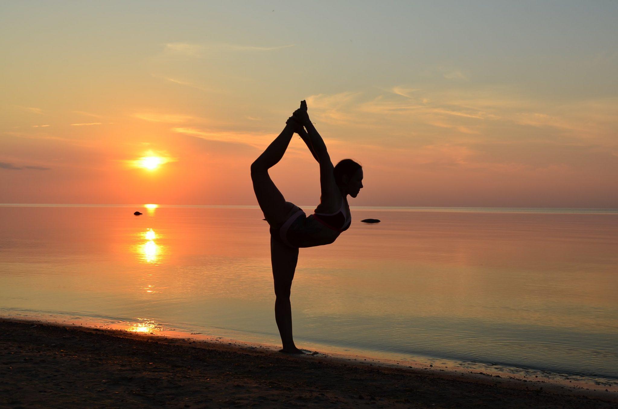 Affiliate Marketing Training beach yoga