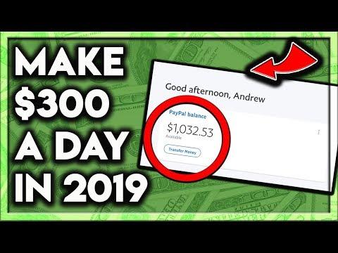 How To Make Money Online 2019! ($300 A Day!) - Tax Twerk©