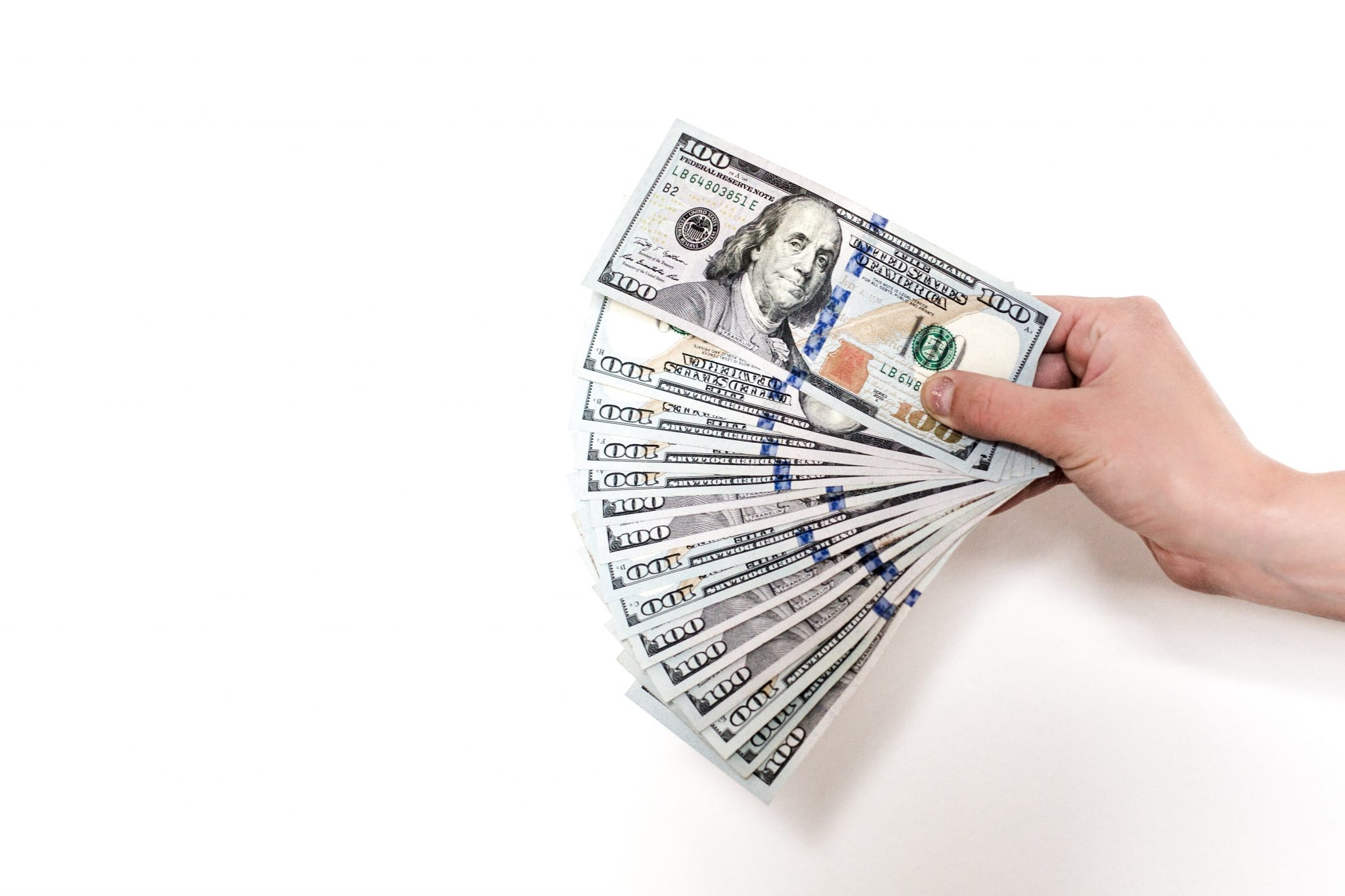 best personal finance tracker hundred dollar bills